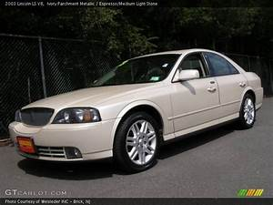 2003 Lincoln Ls V8 In Ivory Parchment Metallic Photo No