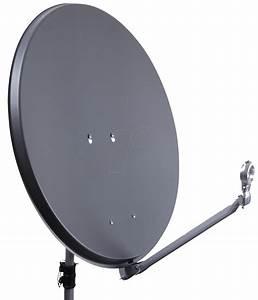 DURLINE AS 75AN: SAT satellite dish, 75 cm, anthracite at ...