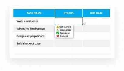 Task Template Tracker Excel Tasklist Due Dates