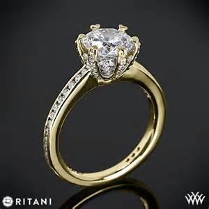 ritani wedding rings ritani setting channel set engagement ring 2072