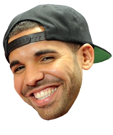 Drake Face PNG Clipart | PNG Mart