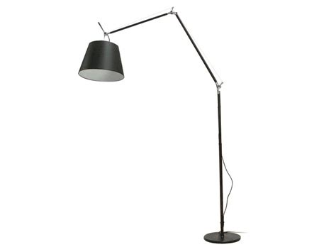 artemide tolomeo mega floor light black cimmermann uk