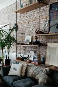 Deco Industrielle Atelier : mille et une id es pour le salon style industriel en 44 photos ~ Teatrodelosmanantiales.com Idées de Décoration