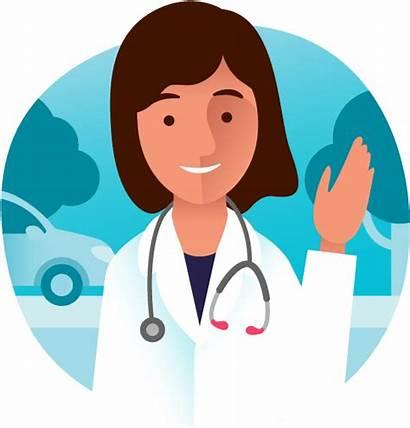 Doctor Doctors Patient Clipart Clip Transparent Pngkey