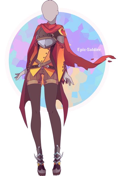 Custom outfit commission 30 by Epic-Soldier.deviantart.com on @DeviantArt | Anime Designs ...