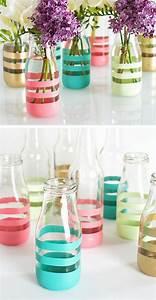 Vasen Selber Machen : diy deko aus glasflaschen 20 inspirierende beispiele und ~ Lizthompson.info Haus und Dekorationen