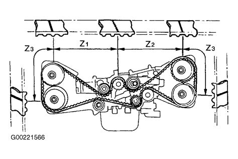 Engine Legacy Outback Dohc Timing Belt Doesn
