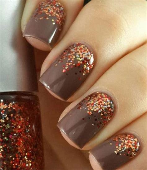 easy fall autumn nails art designs ideas