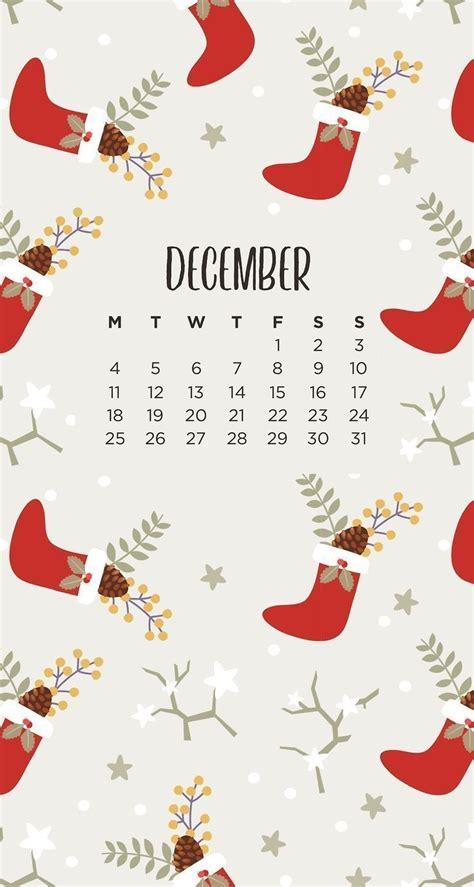 totally  december  calendar wallpaper thoughts