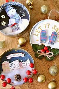 Diy, Vintage, Christmas, Ornaments
