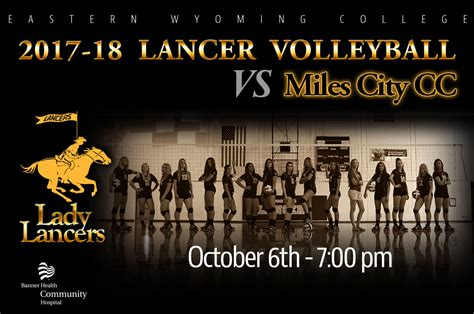 meet lady lancers ewc womens volleyball team eastern wyoming