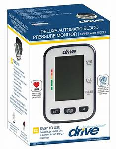 Automatic Blood Pressure Monitor With A Large Easy