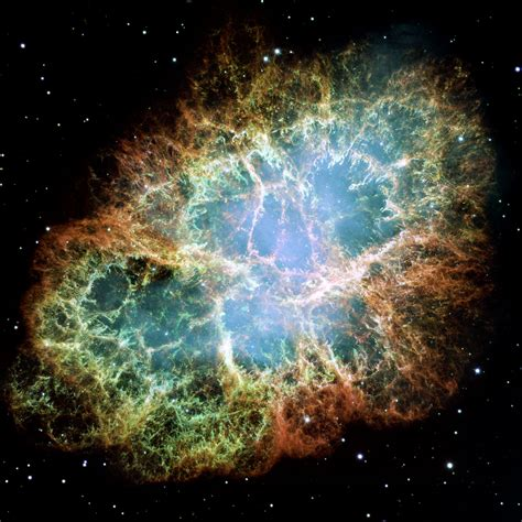 Detailed Image Most Detailed Image Of The Crab Nebula Esa Hubble