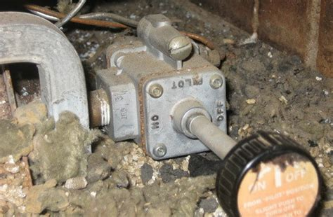 remove  replace  gas fireplace valve