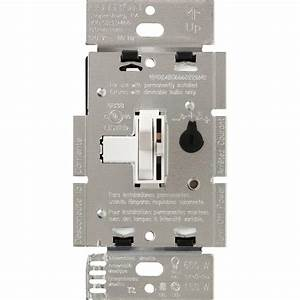 Lutron Toggler C L Dimmer Switch For Dimmable Led  Halogen And Incandescent Bulbs  Single