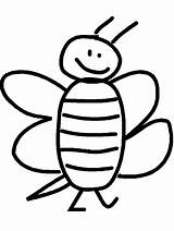Coloring Pages Bee Bumble Printable Template Cliparts Cartoon Clipart Animals Line Library Clip Bumblebee Comments Participant Spelling Coloringhome Advertisement sketch template