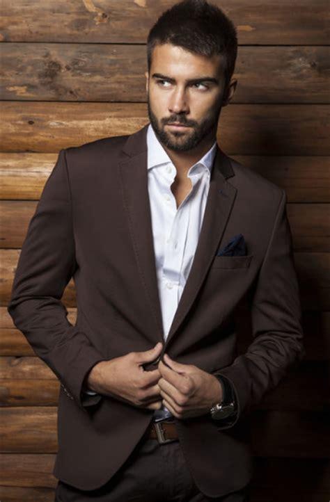 Light Grey Suit Wedding by Brown Men Suits Mens Suits Tips