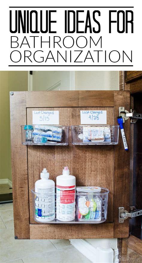 bathroom cabinet organization ideas 25 best ideas about bathroom sink organization on