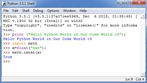 how to install python on windows and set up a basic hello world our code world