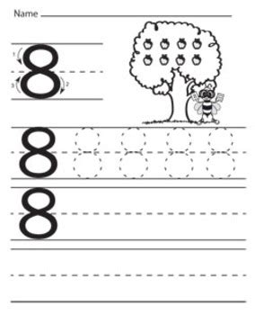 numbers tracing worksheets kindergarten preschool 414 | original 313232 1