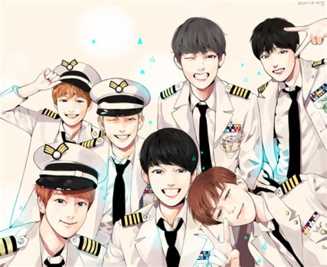 Kpop Anime Wallpaper - bts fan appreciation random onehallyu