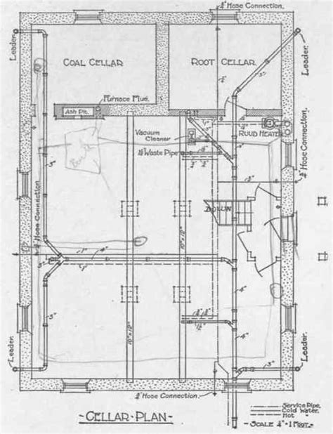 plumbing blueprints pictures exles of residence plumbing