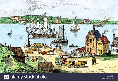 1700s New York City High Resolution Stock Photography And