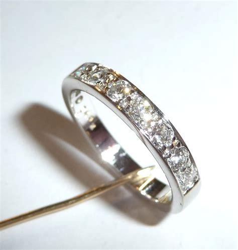 memory ring half of eternity 585 14 kt 7 diamonds 0 49