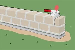Bauen Wie Wir : gartenmauer aus naturstein einfach selber bauen wir ~ Lizthompson.info Haus und Dekorationen