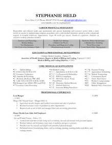 resume objective statement exles healthcare sle resume health care aide