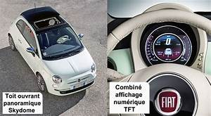 Fiat 500 Toit Panoramique : les options ~ Gottalentnigeria.com Avis de Voitures