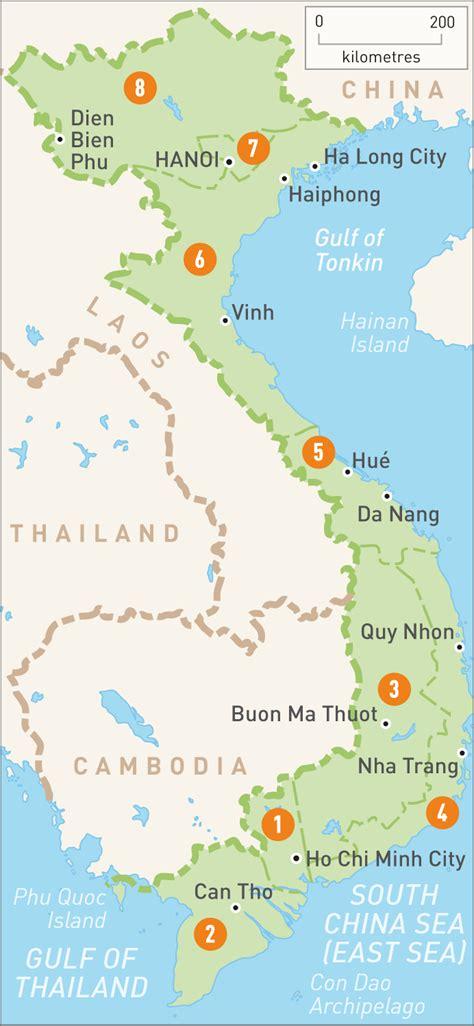 map  vietnam vietnam regions rough guides rough guides