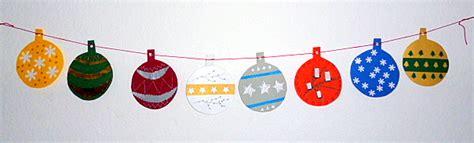 Weihnachtsdeko Fenster Girlande by Christbaumkugeln Aus Tonpapier Als Girlande Weihnachten