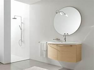 Miroir Rond Salle De Bain : miroir rond pour salle de bain id es de d coration ~ Nature-et-papiers.com Idées de Décoration