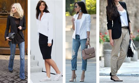 Dressed-up-friday Casual Chic On