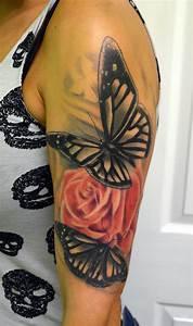 Tatouage De Femme : 1001 designs de tatouage papillon pharamineux ~ Melissatoandfro.com Idées de Décoration
