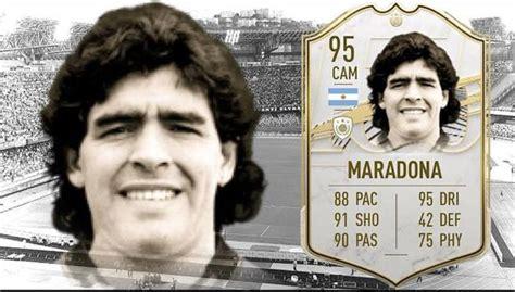 3* weak foot (i rather do a rabona shot than using his right foot). Diego Maradona: FIFA 21 también se despide del astro ...