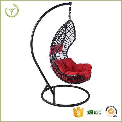 2016 indoor outdoor patio rattan wicker hanging egg swing