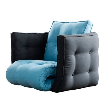 canapé convertible 120 cm coussin pouf fauteuil canape pour enfant meuble