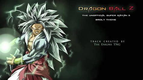 dragon ball  unofficial super saiyan  broly