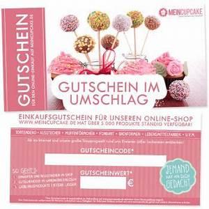 One De Gutschein : gutschein 20 euro nur online einl sbar meincupcake shop ~ Watch28wear.com Haus und Dekorationen
