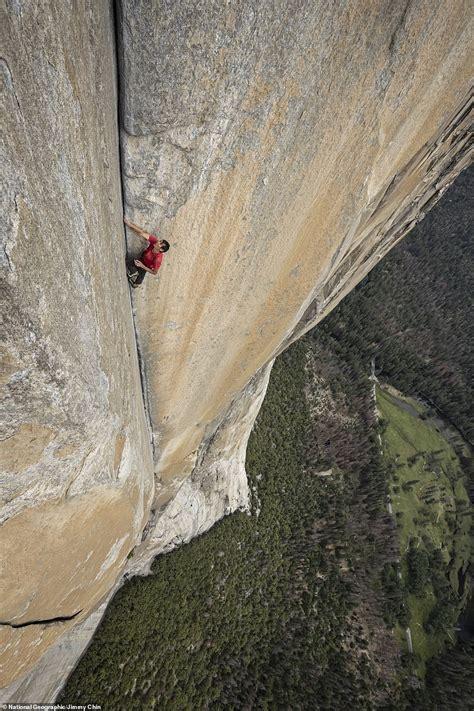 Incredible Shots Show Climber Top Capitan