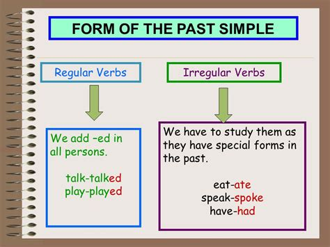 Past Simple  Ppt Video Online Download