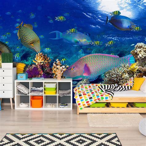 Фотообої Корали та рибки купити на стіну • Еко Шпалери
