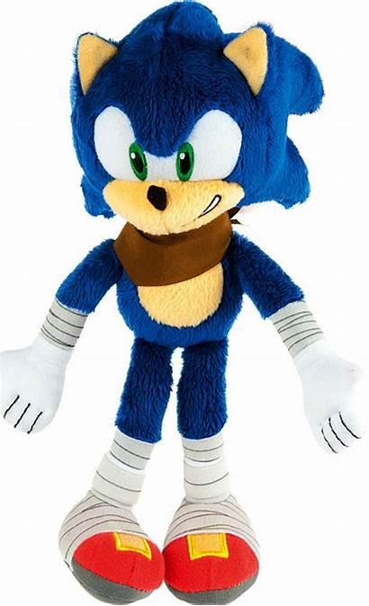 Sonic Plush Boom Hedgehog Teeth Showing Tomy