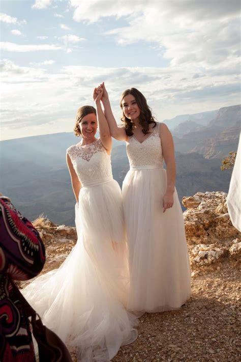 Grand Canyon Lesbian Wedding
