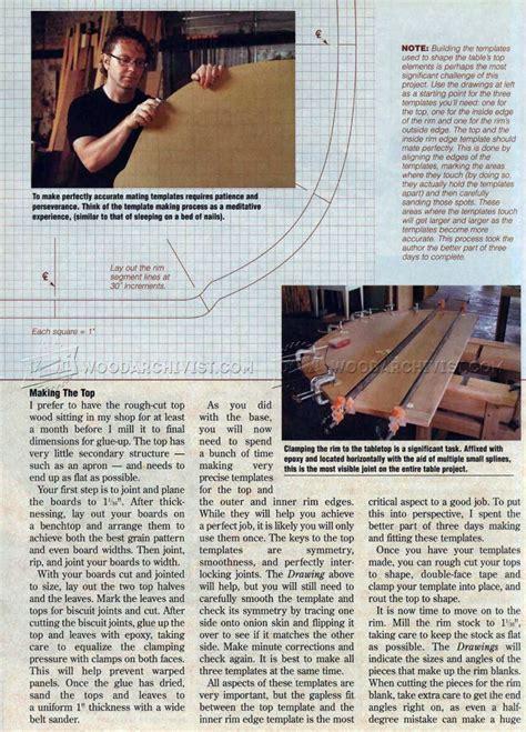 Extendable Dining Table Plans ? WoodArchivist