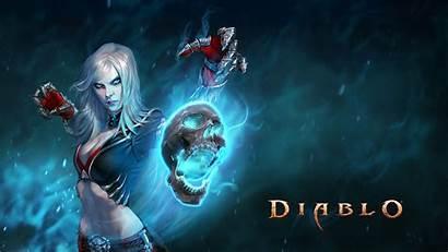 Necromancer Diablo Wallpapers Iii Female Backgrounds Inspirational