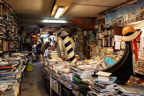 Libreria Venezia by Offbeat The Libreria Acqua Alta Bookstore In