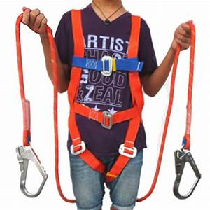 Safety Belt Five Points Full Body Double Hook Safety Harness For Labor Working Construction